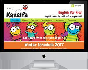 Kazelfa - Cours d'Anglais pour enfants