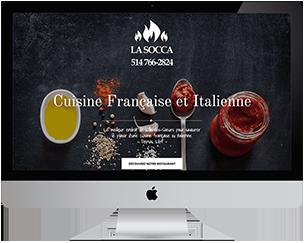 Restaurant La Socca - Cuisine Française et Italienne