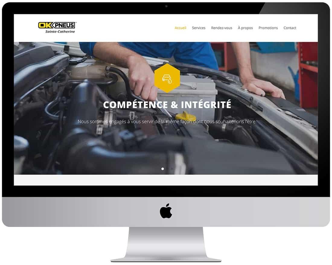 OK Pneus Sainte-Catherine - Centre de maintenance par excellence pour votre véhicule