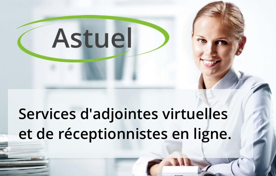 Astuel : Adjointes virtuelles et réceptionnistes en ligne.